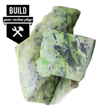 """Build Your Serpentine Stone Plugs (2g-3"""")"""