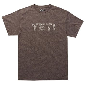 YETI Topo Brown T-Shirt