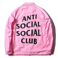 ANTI SOCIAL SOCIAL CLUB Fashion Jacket Stylish Windbreaker [103848280076]