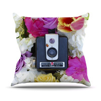 "Libertad Leal ""The Four Seasons: Spring"" Throw Pillow"