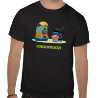King of Booze SHIRTCEPTION T-shirt from Zazzle.com