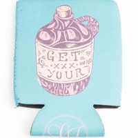 Get Your Shine On Can Holder in Seafoam by Lauren James