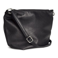 H&M - Small Shoulder Bag - Black - Ladies