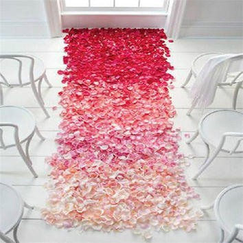 FREE 100 Decoration Artificial Rose Petals