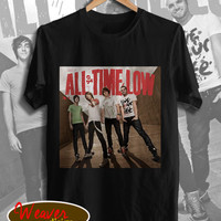 all time low shirt all time low tshirt band concert shirt tshirt for unisex size