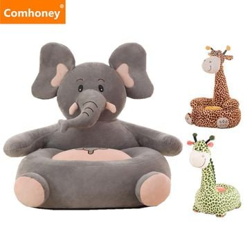 Elephant Baby Chair Bean Bag Feeding Chair Children Seat Sofa