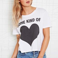 Feather Hearts Love Tee at Urban Outfitters