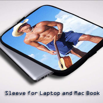 Kenny Chesney X0336 Sleeve for Laptop, Macbook Pro, Macbook Air (Twin Sides)