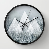 Winter Time Wall Clock by Cafelab