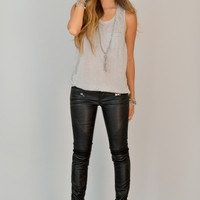 Blank NYC Daddy Soda Leather Pants