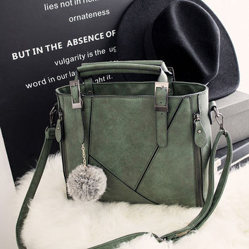 Fashion Large Leather Chic Stylish Crossbody Handbag Womens Shoulder Bag