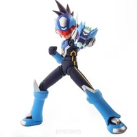 Mega Man Star Force 4 Inch Nel SENTINEL Action Figure : Shooting Star Mega Man - HYPETOKYO