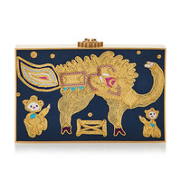 The Beast Silk Clutch | Moda Operandi