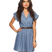 Casual Chambray Dress