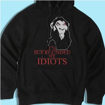 Scar The Lion King Surrounded By Idiots Men'S Hoodie