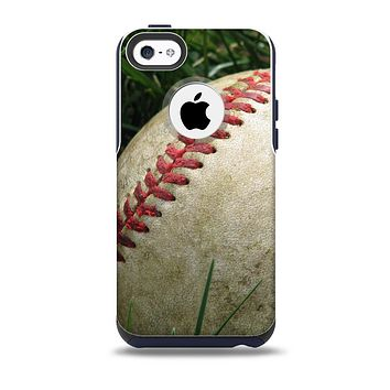 The Grunge Worn Baseball Skin for the iPhone 5c OtterBox Commuter Case