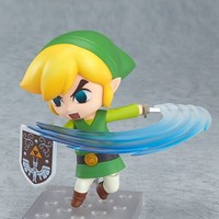 LEGEND OF ZELDA WIND WAKER LINK NENDOROID ACTION FIGURE