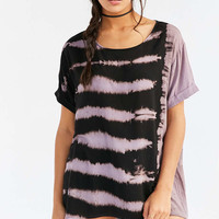 Ecote High/Low Dye-Tech Tunic Top - Urban Outfitters