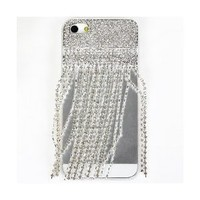 i-Jew Series Shining Rhinestones Case for iPhone 5 Case (Inspire From Night Dresses Long Sleeve Woman and Long Prom Dresses Jewelry on Case) *** Transaparent Color Case ***