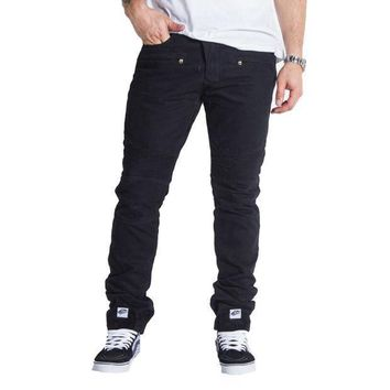 Embellish Nyc Elemento Jeans In Black - Beauty Ticks