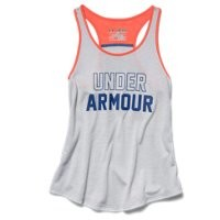 Under Armour Girls' UA Big Logo Tank
