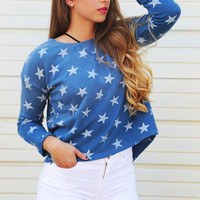 By Your Side Starry Pullover