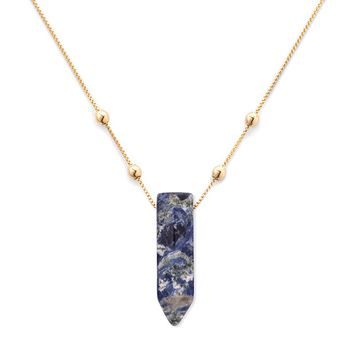 Sodalite Pendant Necklace
