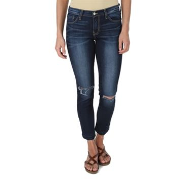 Flying Monkey Juniors Split Knee Skinny Jean at Von Maur