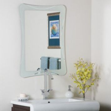 Decor Wonderland Frameless Terassa Wall Mirror - SSM21 - Mirrors - Decor