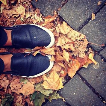 Perf Leather Slip-On   Shop Classic Shoes at Vans