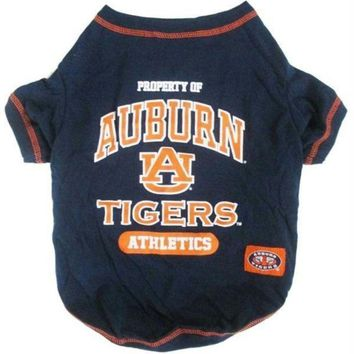 auguau Auburn Tigers Pet Tee Shirt