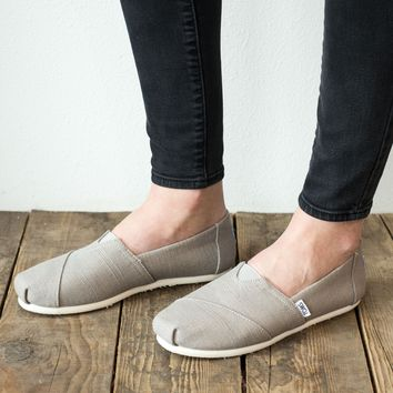 TOMS Heritage Canvas Shoe - Morning Dove