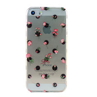 Rose Polka Dots iPhone 5 Case