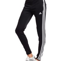 adidas Women's Tiro 11 Training Pant (Black, White, Medium)