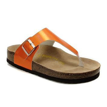 Birkenstock Como Sandals Artificial Leather Jacinth - Ready Stock