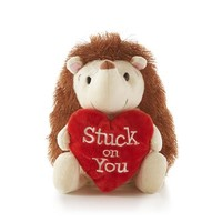 Valentine Porcupine Stuffed Animal