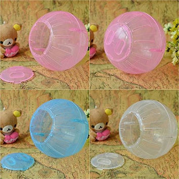 EWS color send random Pet Play Exercise Rodent Jogging Mice Hamster Gerbil Rat Small Ball Plastic Toy