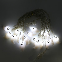 led string white ghost 5Meter 20Leds waterproof holiday led lighting EU/US plug outdoor decoration for Halloween holiday