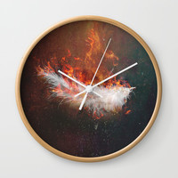 Icarus Wall Clock by HappyMelvin