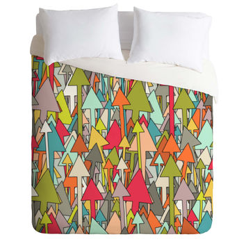 Sharon Turner Earth Up Duvet Cover