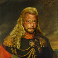 Duane 'Dog' Chapman - replaceface Art Print by Replaceface