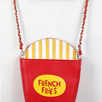 Fries Clutch Bag