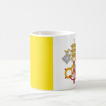 Mug with Flag of Vatican
