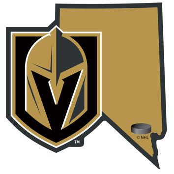 Las Vegas Golden Knights® Home State Decal