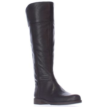 Franco Sarto Christine Riding Boots, Black, 6 US / 36 EU
