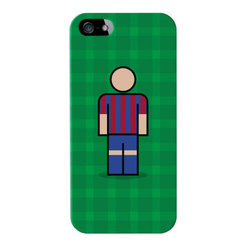 Barcelona Full Wrap High Quality 3D Printed Case for Apple iPhone 5 / 5s by Blunt Football European