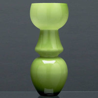 Emerald Hong Kong  Glass Vase