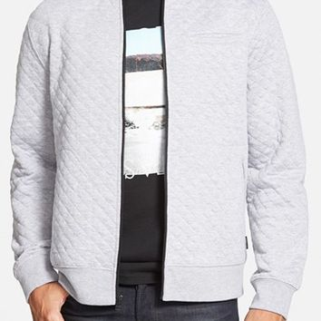 Men's Tavik 'Taun' Diamond Quilted Jersey Bomber Jacket ,
