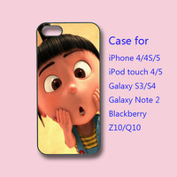 Agnes iPhone 5 case, iPhone 4 case, ipod case, samsung galaxy s3 case, samsung galaxy s4, samsung note 2, blackberry Z10, Q10, Despicable me