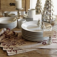 Apilco Tradition Porcelain Dinnerware Place Settings